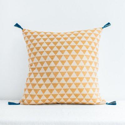 jamini・cushion alice mastard yellow