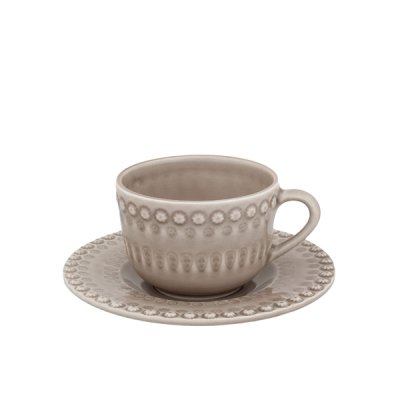 bordallo pinheiro・ cap & saucer oatmeal<img class='new_mark_img2' src='//img.shop-pro.jp/img/new/icons8.gif' style='border:none;display:inline;margin:0px;padding:0px;width:auto;' />
