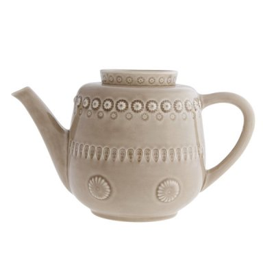 bordallo pinheiro・ tea pot oatmeal