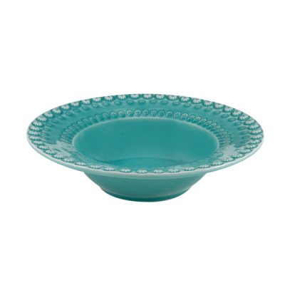 bordallo pinheiro・salad bowl aquagreen