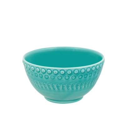 bordallo pinheiro・ cafe ole bowl aquagreen