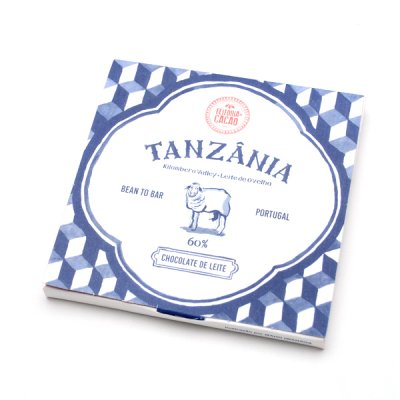 Feitoria do Cacao・Milk chocolate Tanzania60%+sheepmilk<img class='new_mark_img2' src='//img.shop-pro.jp/img/new/icons8.gif' style='border:none;display:inline;margin:0px;padding:0px;width:auto;' />