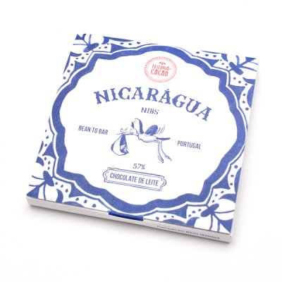 <img class='new_mark_img1' src='https://img.shop-pro.jp/img/new/icons8.gif' style='border:none;display:inline;margin:0px;padding:0px;width:auto;' />Feitoria do Cacao・Milk chocolate Nicaragua57%+nibs