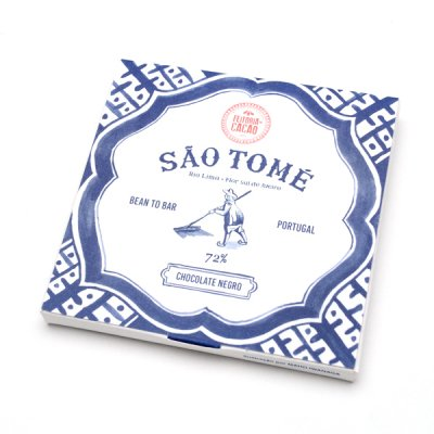 Feitoria do Cacao・Bitter chocolate Sao Tome72%+flor de sal