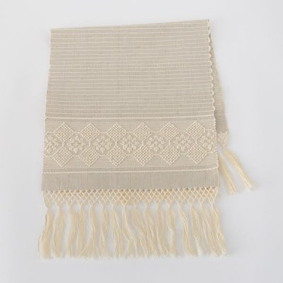 Almalaguês・Table mat tassel・beige/natural