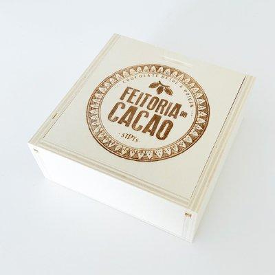 Feitoria do Cacao・Wooden gift box