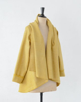 Chicoração ・Shawl jaket swallow cloud yellow
