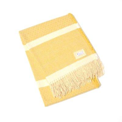 Chicoração ・Wool & Cotton Blanket Flower Thorn bordeaux