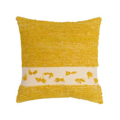 <img class='new_mark_img1' src='https://img.shop-pro.jp/img/new/icons8.gif' style='border:none;display:inline;margin:0px;padding:0px;width:auto;' />Chicoração ・Handmade Cushion Cover yellow