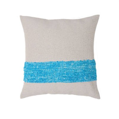 <img class='new_mark_img1' src='https://img.shop-pro.jp/img/new/icons8.gif' style='border:none;display:inline;margin:0px;padding:0px;width:auto;' />Chicoração ・Handmade Cushion Cover turquoise/gray