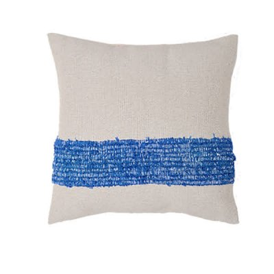 <img class='new_mark_img1' src='https://img.shop-pro.jp/img/new/icons8.gif' style='border:none;display:inline;margin:0px;padding:0px;width:auto;' />Chicoração ・Handmade Cushion Cover oil blue