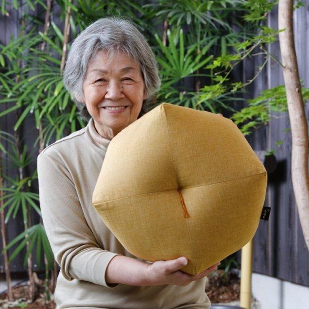 【長寿祝】 おじゃみ座布団 傘寿祝い/米寿祝い