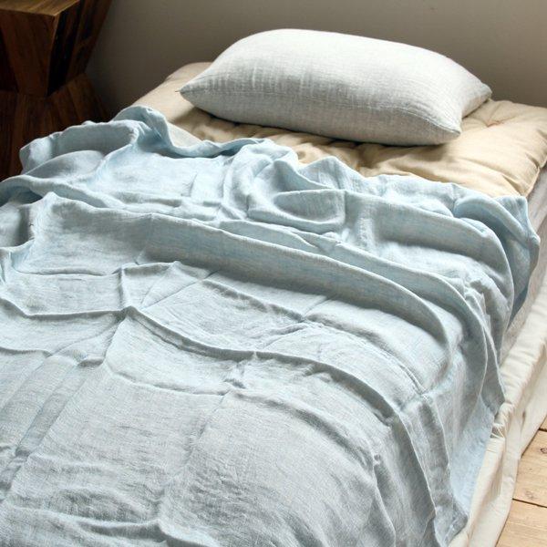 ニ重織本麻ガーゼケット 150×200cm