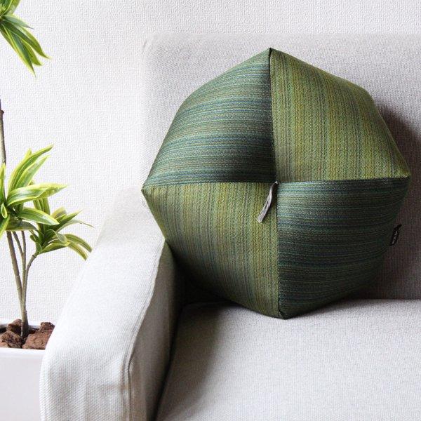 【長寿祝】 おじゃみ座布団 西陣織 緑寿祝い