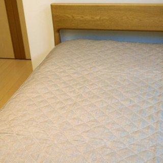 【訳あり品】 本麻敷きパッド 中綿麻100% シングル 100×205cm