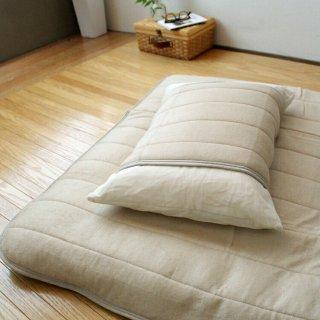 ベッドパッド 敷きパッド 備長炭シート入り シングル 100×200cm