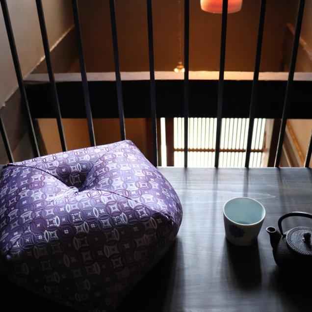 【長寿祝】 おじゃみ座布団 金襴七宝 古希祝い/喜寿祝い