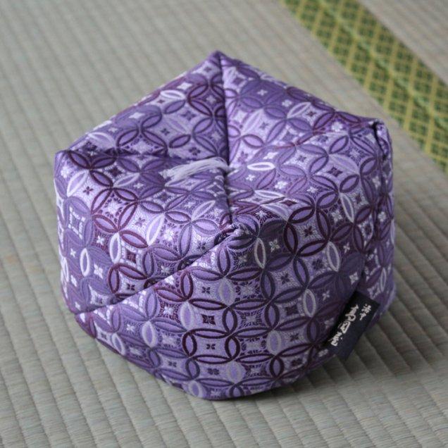 【長寿祝】 こじゃみ枕 金襴七宝 古希祝い/喜寿祝い