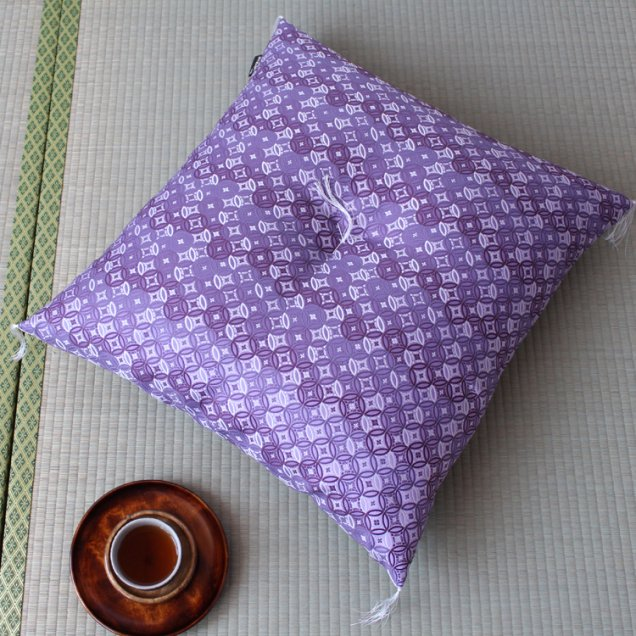 【長寿祝】 京座布団 金襴七宝 古希祝い/喜寿祝い