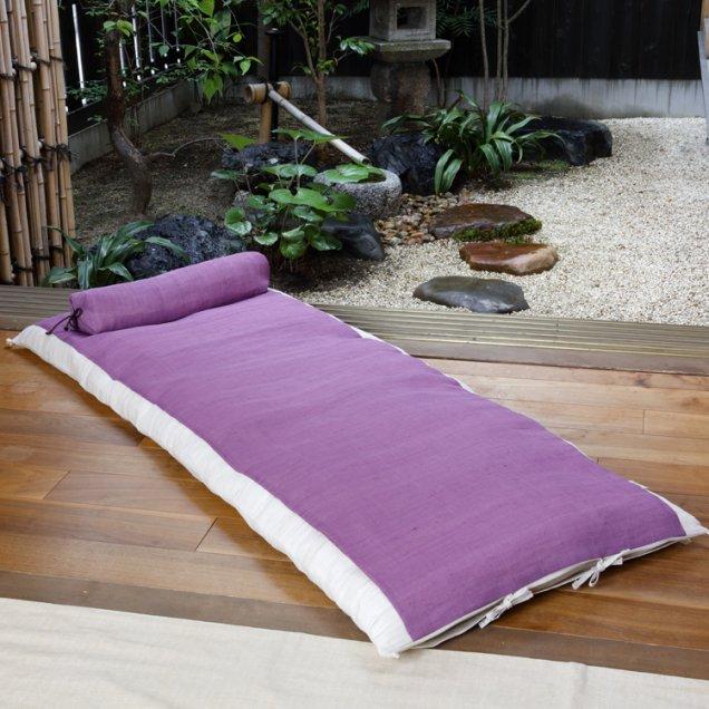 【長寿祝】 本麻ごろ寝敷き布団&なが枕セット 古希祝い/喜寿祝い