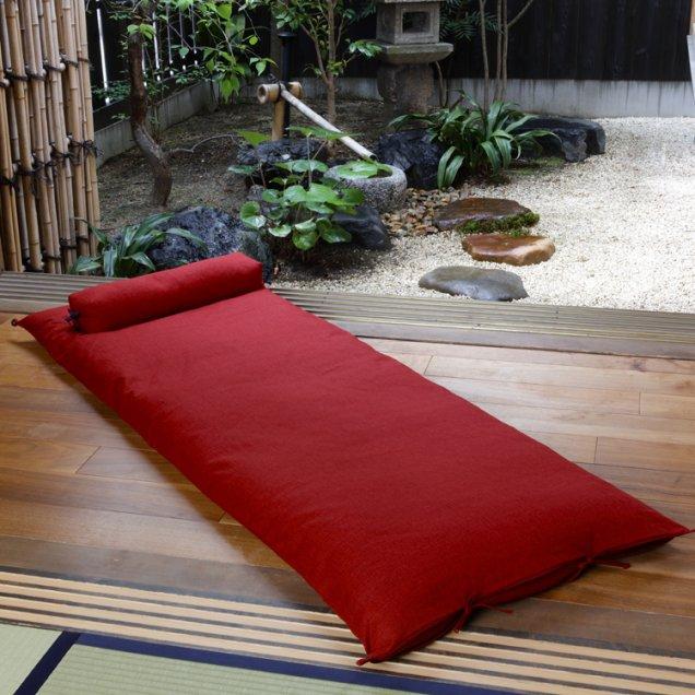 【長寿祝】 ごろ寝敷き布団&なが枕セット 還暦祝い