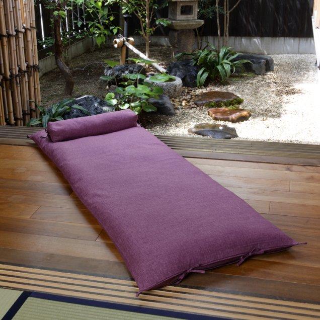 【長寿祝】 ごろ寝敷き布団&なが枕セット 古希祝い/喜寿祝い