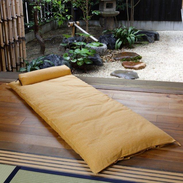 【長寿祝】 ごろ寝敷き布団&なが枕セット 傘寿祝い/米寿祝い