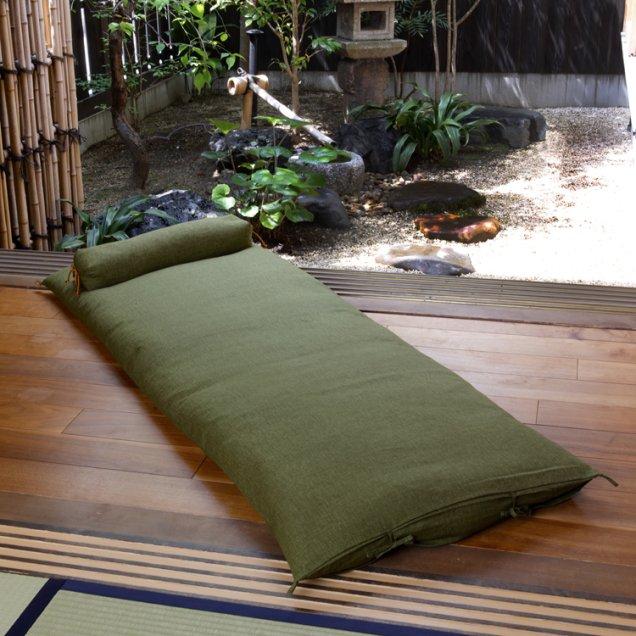 【長寿祝】 ごろ寝敷き布団&なが枕セット 緑寿祝い
