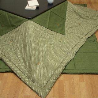こたつ掛け布団・片面デザイン 長方形ジャンボ 205×285cm