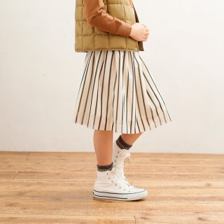 STRIPE TULLE SKIRT (AL812502)
