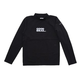 COTTON MOCK NECK L/S TEE (AL812307)