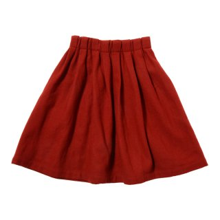 WOOL TUCK SKIRT (AL812503)