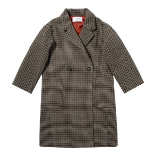 TECH TWEED LONG COAT(AL812907)