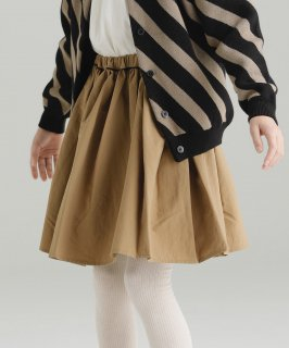AIRLY GATHER SKIRT SOLID