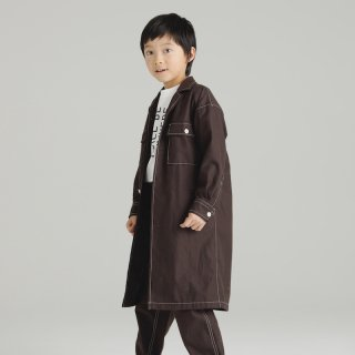 OUTLET TWILL SHOP COAT<img class='new_mark_img2' src='https://img.shop-pro.jp/img/new/icons20.gif' style='border:none;display:inline;margin:0px;padding:0px;width:auto;' />