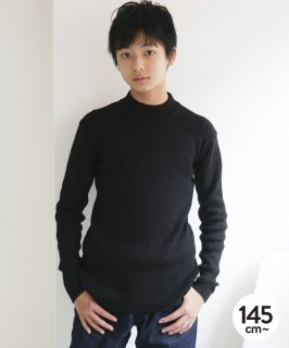 OUTLET RIB MOCK NECK KNIT<img class='new_mark_img2' src='https://img.shop-pro.jp/img/new/icons20.gif' style='border:none;display:inline;margin:0px;padding:0px;width:auto;' />