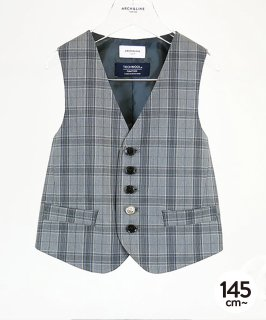 TECH WOOL BASIC VEST セットアップ対応 [145-165cm]<img class='new_mark_img2' src='https://img.shop-pro.jp/img/new/icons20.gif' style='border:none;display:inline;margin:0px;padding:0px;width:auto;' />