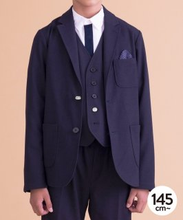 HIGH GAUGE JERSEY BASIC JACKET 人気No.1ジャケット セットアップ対応[145-165cm]