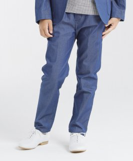 INDIGO BASIC PANTS