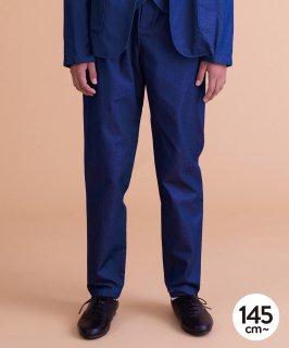 INDIGO BASIC PANTS セットアップ対応[145-165cm]