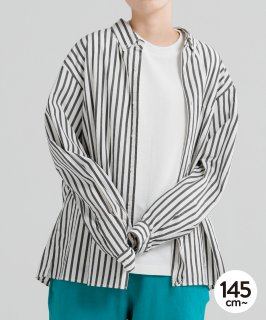 OUTLET STRIPE WASHER B/D SHIRT<img class='new_mark_img2' src='https://img.shop-pro.jp/img/new/icons20.gif' style='border:none;display:inline;margin:0px;padding:0px;width:auto;' />