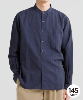 OUTLET BAND COLLAR L/S SHIRT<img class='new_mark_img2' src='https://img.shop-pro.jp/img/new/icons20.gif' style='border:none;display:inline;margin:0px;padding:0px;width:auto;' />