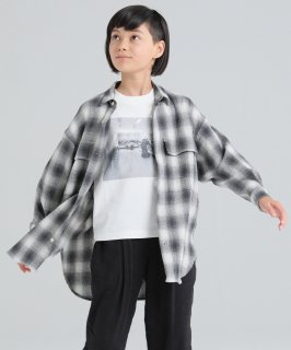 OUTLET CHECK BIG L/S SHIRT<img class='new_mark_img2' src='https://img.shop-pro.jp/img/new/icons20.gif' style='border:none;display:inline;margin:0px;padding:0px;width:auto;' />