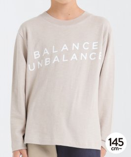 SLUB BALANCE L/S TEE<img class='new_mark_img2' src='https://img.shop-pro.jp/img/new/icons20.gif' style='border:none;display:inline;margin:0px;padding:0px;width:auto;' />