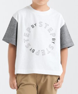 SLUB STEP BY 5/S TEE<img class='new_mark_img2' src='https://img.shop-pro.jp/img/new/icons20.gif' style='border:none;display:inline;margin:0px;padding:0px;width:auto;' />