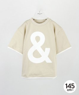 "BIG ""&"" TEE<img class='new_mark_img2' src='https://img.shop-pro.jp/img/new/icons20.gif' style='border:none;display:inline;margin:0px;padding:0px;width:auto;' />"