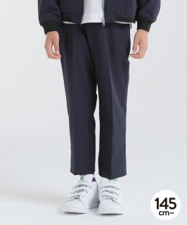 EVALET CHECK CROPPED PANTS