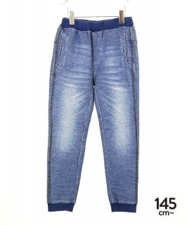 SOFT DENIM JERSEY PANTS