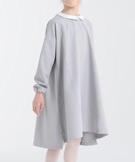 LINEN LIKE 2WAY FLARE DRESS