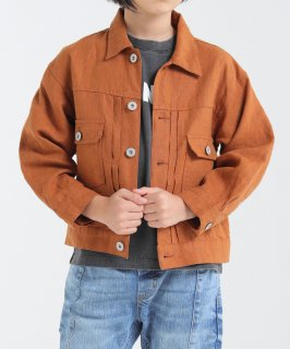 OUTLET CANVAS LINEN JACKET<img class='new_mark_img2' src='https://img.shop-pro.jp/img/new/icons20.gif' style='border:none;display:inline;margin:0px;padding:0px;width:auto;' />